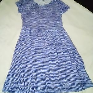 Old navy pretty blue dress